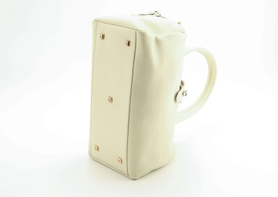 arteoro laboratorio orafo venezia borsa pelle bianca