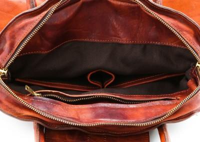 arteoro laboratorio orafo venezia borsa pelle marrone scuro