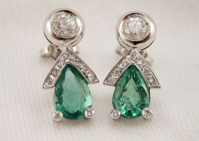 arteoro laboratorio orafo orecchini diamanti